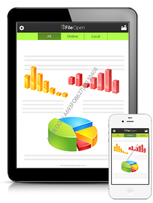 Distribute documents securely to iPad & iPhone