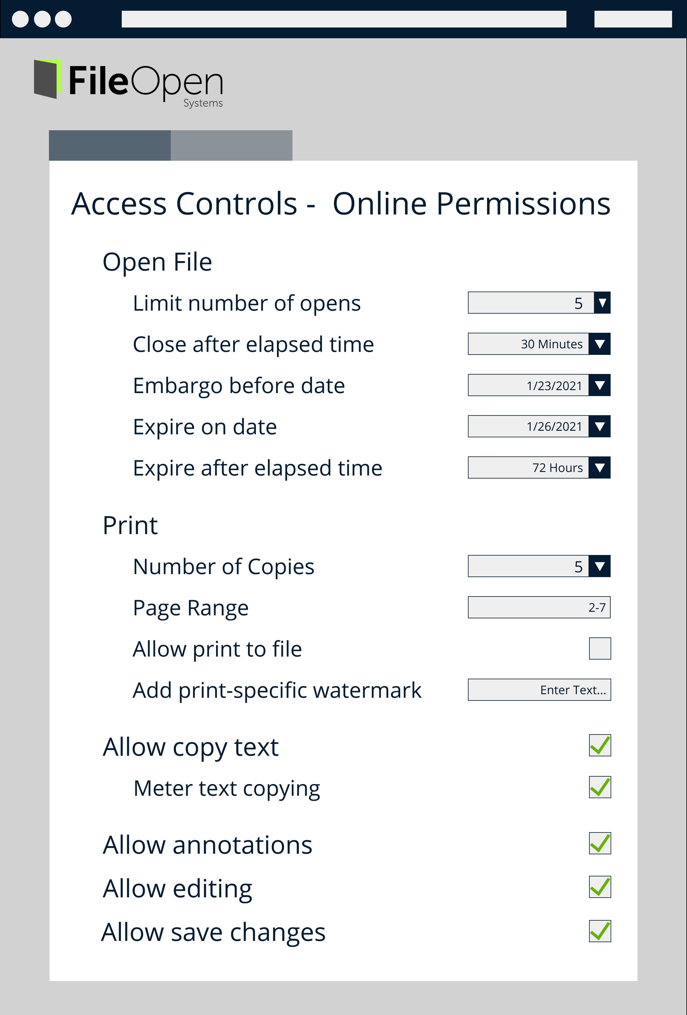 Access Controls - Online-1